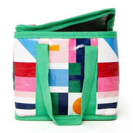 Project Ten Mini Cube Insulated Lunch Bag - Flags