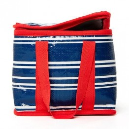 Project Ten Mini Cube Insulated Lunch Bag - Tea Towel Stripe