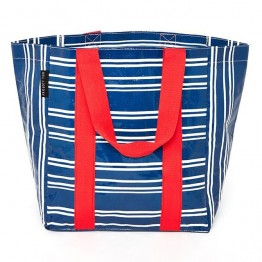 Project Ten Shopping Bag - Tea Towel Stripe