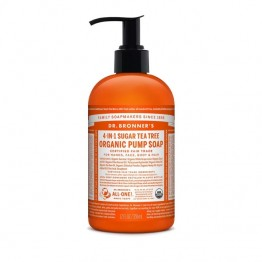 Dr Bronner's Organic Pump Soap - Shikakai Tea Tree