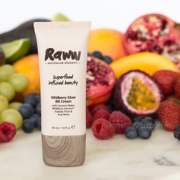 Raww Wildberry Glow BB Cream 30ml - Vanilla (light)