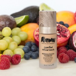 Raww Wildberry Nourish Foundation 30ml - Bronze