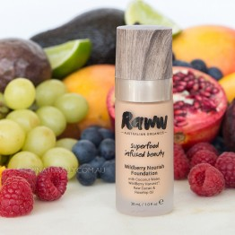 Raww Wildberry Nourish Foundation 30ml - Honey