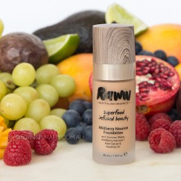 Raww Wildberry Nourish Foundation 30ml - Toast