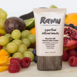 Raww Nourish-ME Hand & Nail Cream 50ml