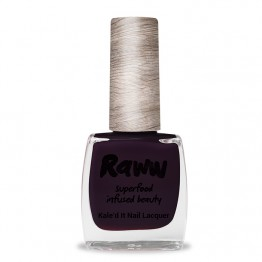 Raww Kale'd It 10-Free Nail Lacquer 10ml - Blackberry Jammin