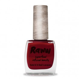 Raww Kale'd It 10-Free Nail Lacquer 10ml - Calling All Goji Berries