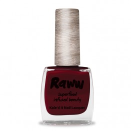Raww Kale'd It 10-Free Nail Lacquer 10ml - Dark Raww Cherry