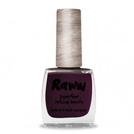 Raww Kale'd It 10-Free Nail Lacquer 10ml - Feeling Grape