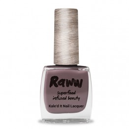 Raww Kale'd It 10-Free Nail Lacquer 10ml - I'm Going Cocoa