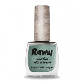 Raww Kale'd It 10-Free Nail Lacquer 10ml - Oh my Green-Ness