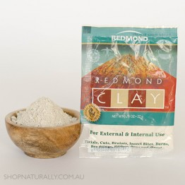Redmond Clay Bentonite Healing Clay - FREE SAMPLE (limit 1 per customer)