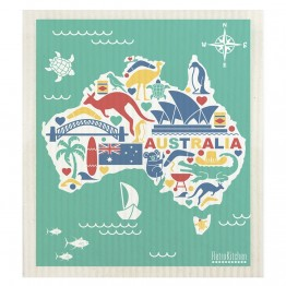 Retro Kitchen Swedish Dish Cloth - Australia
