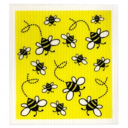 Retro Kitchen Swedish Dish Cloth - Bees