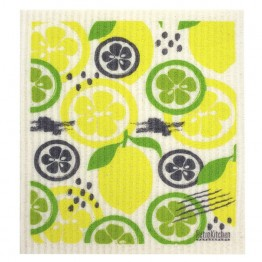 Retro Kitchen Swedish Dish Cloth - Citrus