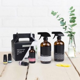 Retro Kitchen Make Your Own Natural Cleaning Products Kit