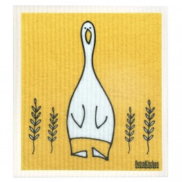 Retro Kitchen Swedish Dish Cloth - Duck