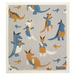 Retro Kitchen Swedish Dish Cloth - Kangaroo