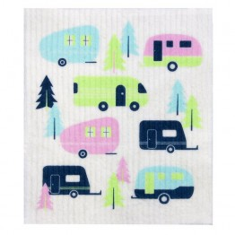 Retro Kitchen Swedish Dish Cloth - Caravan