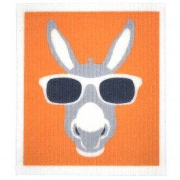 Retro Kitchen Swedish Dish Cloth - Donkey