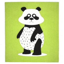 Retro Kitchen Swedish Dish Cloth - Panda