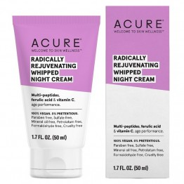 Acure Radically Rejuvenating Whipped Night Cream - 50ml
