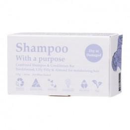 Shampoo With A Purpose Shampoo & Conditioner Bar - Dry or Damaged 135g