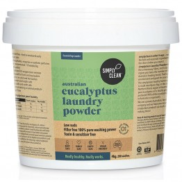 Simply Clean Laundry Powder 4kg - Eucalyptus