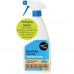 Simply Clean Healthy Clean Bathroom 500ml - Fragrance Free