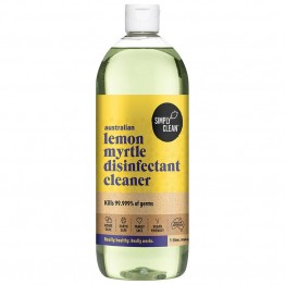 Simply Clean Disinfectant Cleaner 1L - Lemon Myrtle