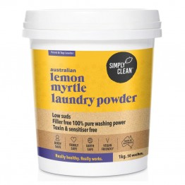 Simply Clean Laundry Powder 1kg - Lemon Myrtle