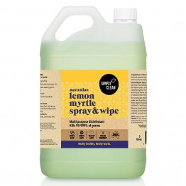 Simply Clean Spray & Wipe 5L - Lemon Myrtle