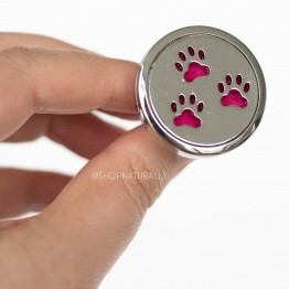 Shop Naturally Aromatherapy Car Diffuser Locket - Paws