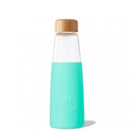 Sol Glass Water Bottle 410ml - Mighty Mint