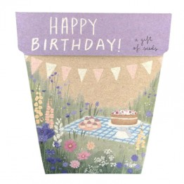 Sow n Sow Gift of Seeds - Happy Birthday Picnic