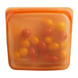 Stasher Reusable Silicone Leakproof Sandwich Pocket - Citrus