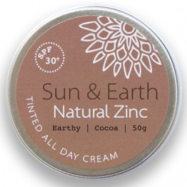 Sun & Earth Tinted All Day Cream SPF30 50g - Earthy (dark)
