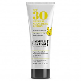 Simple As That Natural Baby Sunscreen SPF 30 - 100ml