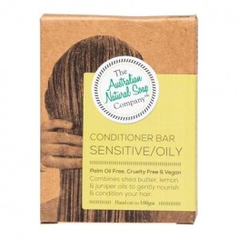 The Australian Natural Soap Co Solid Conditioner Bar - Sensitive / Oil
