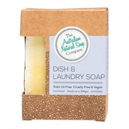 The Australian Natural Soap Co Dish & Laundry Soap - 200g