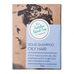 The Australian Natural Soap Co Solid Shampoo Bar - Oily Hair