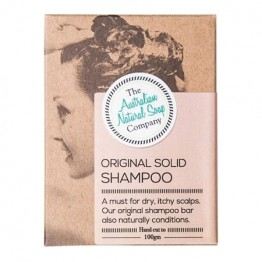 The Australian Natural Soap Co Solid Shampoo Bar - Original