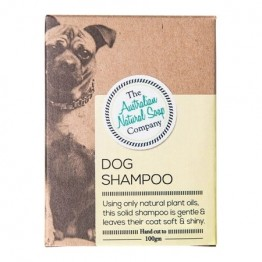 The Australian Natural Soap Co Solid Shampoo Bar - Dog Shampoo