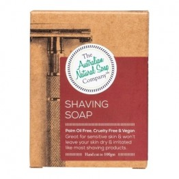 The Australian Natural Soap Co Shaving Soap - 100g