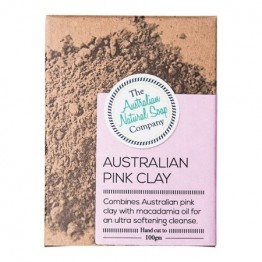 The Australian Natural Soap Company Pink Clay Facial Soap - 100g