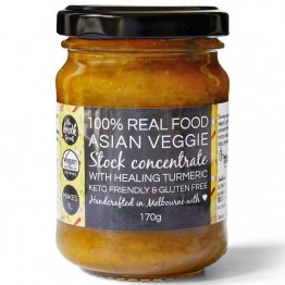 The Broth Sisters Asian Veggie With Turmeric Stock Concentrate 170g