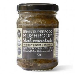 The Broth Sisters Superfood Mushroom With Lions Mane Stock Concentrate 170g