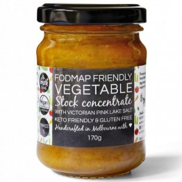 The Broth Sisters Fodmap Friendly Vegetable Stock Concentrate 170g