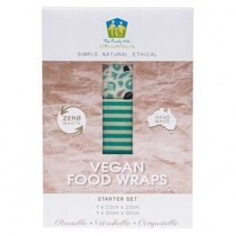 The Family Hub Organics Vegan Food Wrap Starter Set - 2 pack