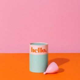 The Hello Cup Menstrual Cup - L Blush
